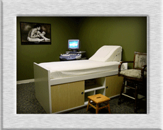 ULTRASOUND SCAN ROOM